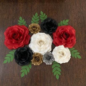 Other - Backdrop paper flowers/ roses